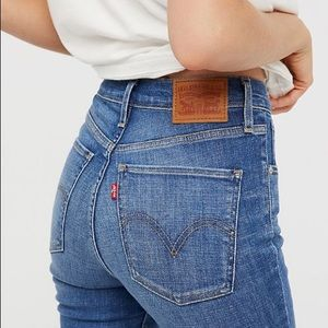 Levis Mile high rise jean skinny